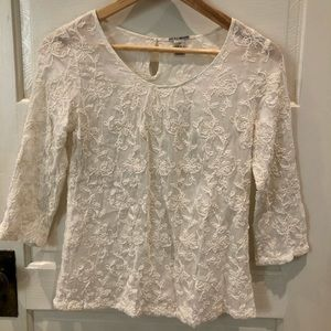 3 for $30 Lucky Brand lace top